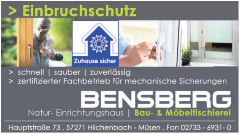 Bensberg Natur- Einrichtugshaus - Bau- & Möbeltischlerei