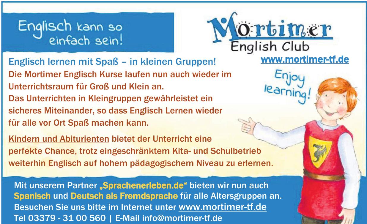 Mortimer Englisch Club