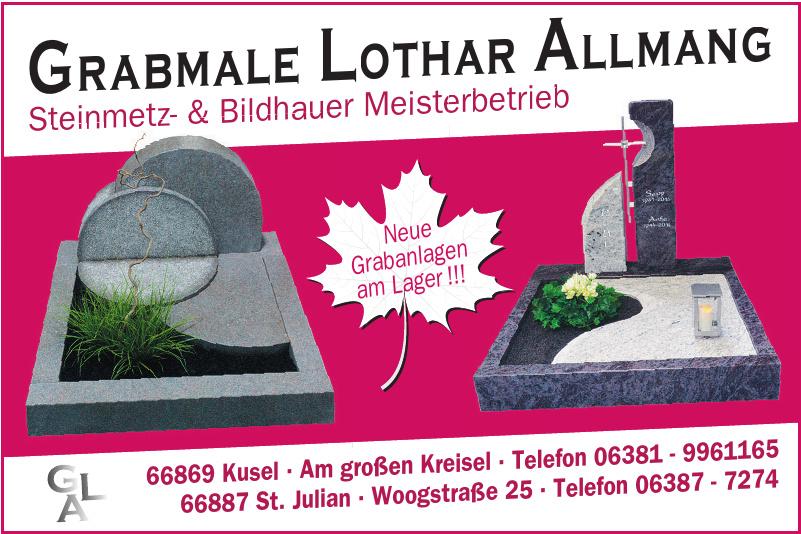 Grabmale Lothar Allmang