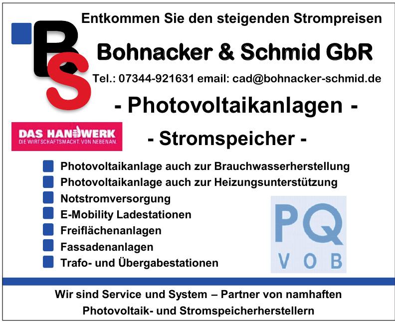 Bohnacker & Schmid GbR