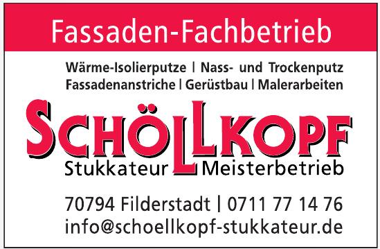 Schölkopf Stukkateur Meisterbetrieb