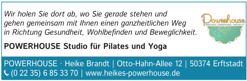 Powerhouse Heike Brandt