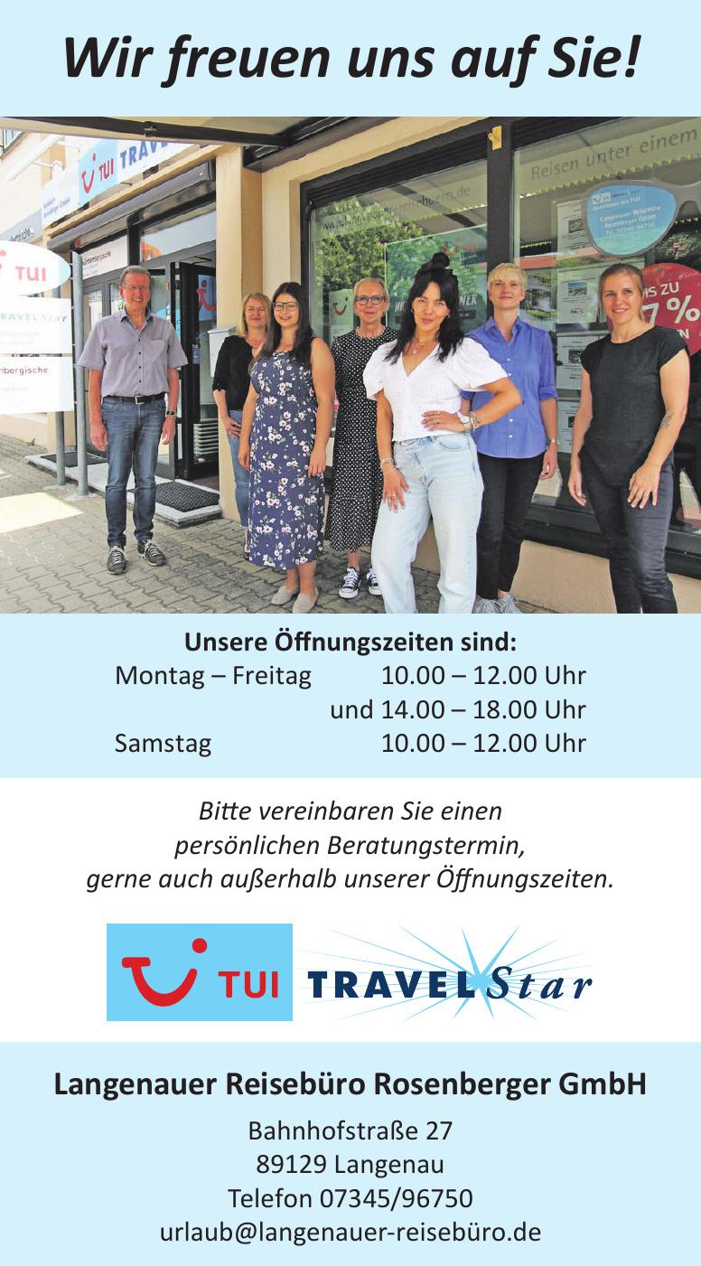 Langenauer Reisebüro Rosenberger GmbH