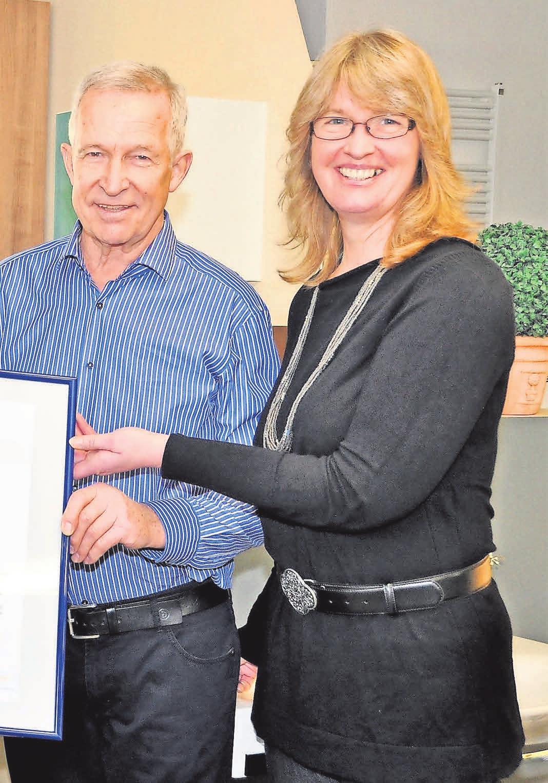 Gemeinsam mit ihrem Vater Dieter Hohe leitet Christiane Hohe das Familienunternehmen.