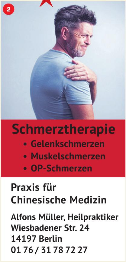 Praxis für Chinesische Medizin Alfons Müller, Heilpraktiker