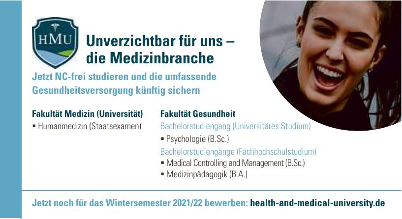 HMU Health and Medical University Potsdam