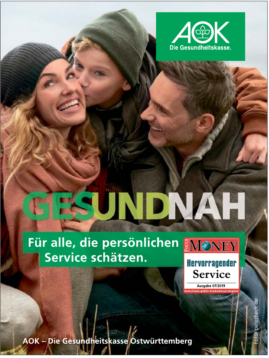 AOK-Die Gesundheitskasse Ostwürttemberg