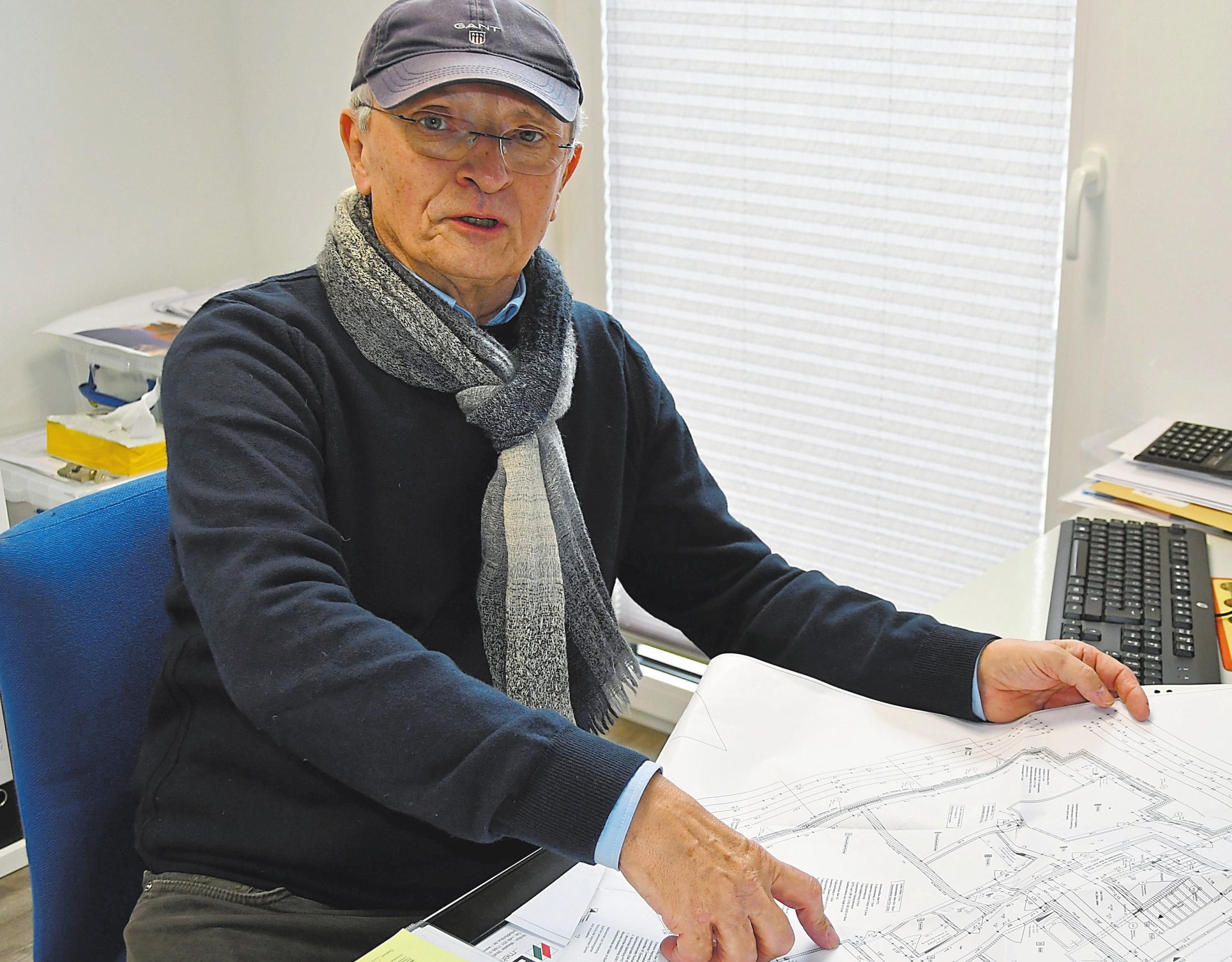 Felix Ahaus von Ahaus Immobilien ist verantwortlich für die Vermarktung der von Ahaus Bau erstellten Immobilien. Fotos: Pia Weinekötter