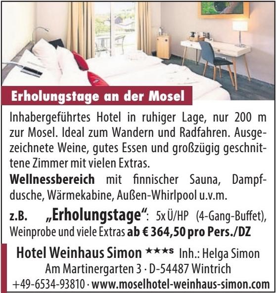 Hotel Weinhaus Simon***