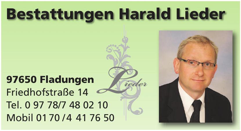 Bestattungen Harald Lieder
