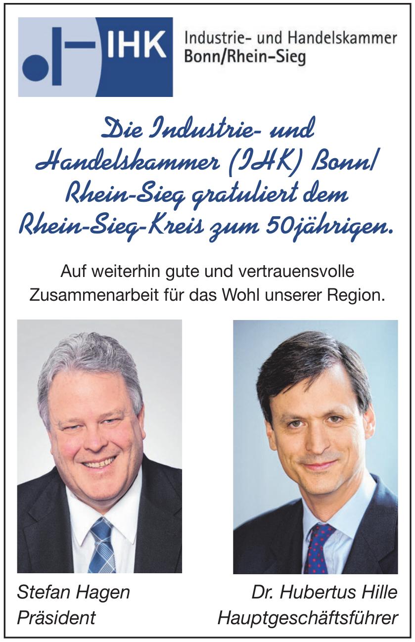 Die Industrie- und Handelskammer (IHK) Bonn/Rhein-Sieg