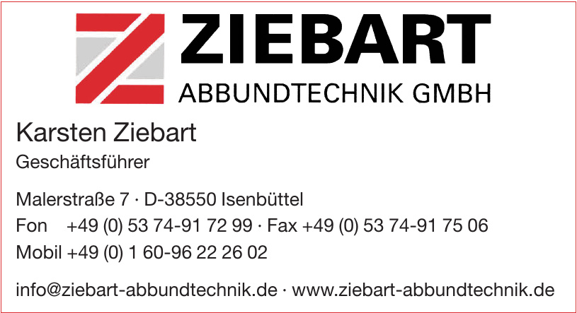 Ziebart Abbundtechnik GmbH