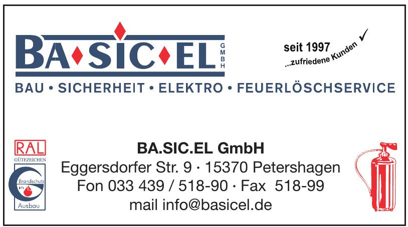BA.SIC.EL GmbH