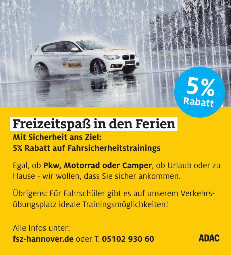 ADAC Fahrsicherheitszentrum Hannover/ Laatzen
