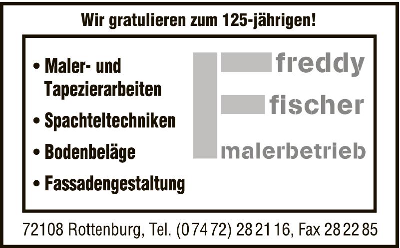 Fredy Fischer Malerbetrieb