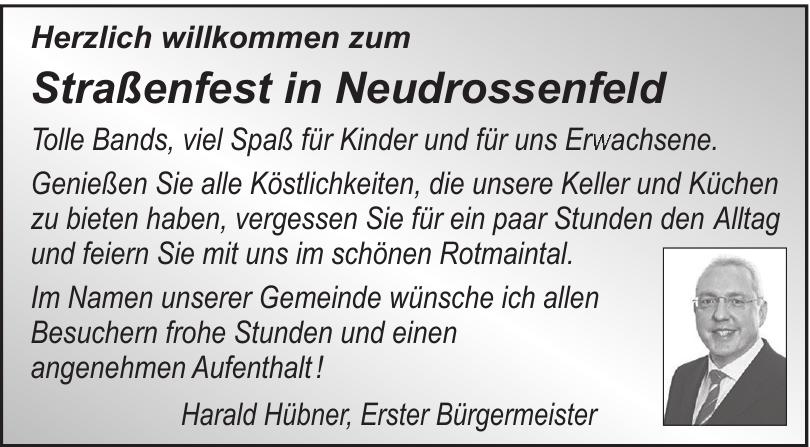 Straßenfest in Neudrossenfeld
