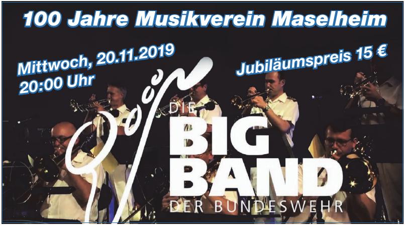 100 Jahre Musikverein Maselheim