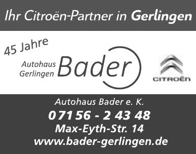 Autohaus Bader e. K.