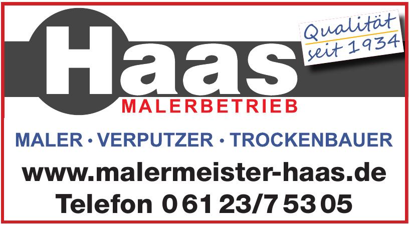 Malermeister Haas