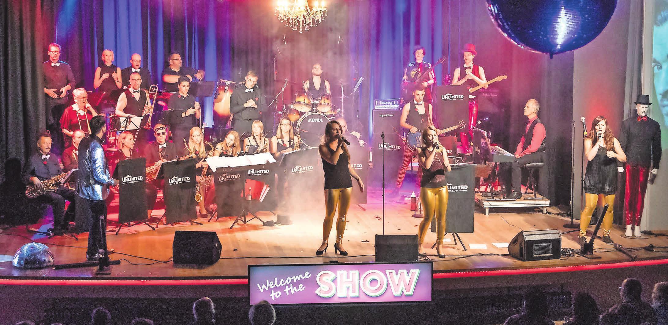Die Music Unlimited Big Band will das Weetzener Festzelt rocken.