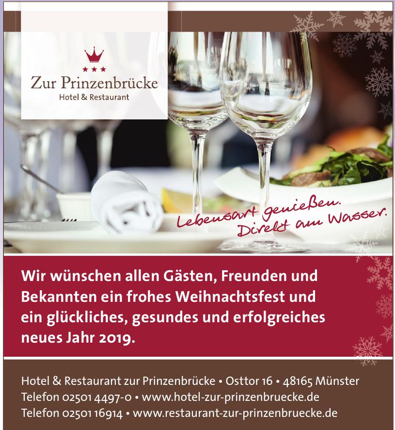 Hotel & Restaurant zur Prinzenbrücke