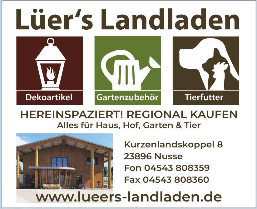 Lüer´s Landladen