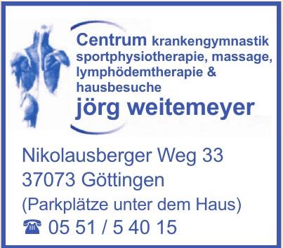 Centrum für Physiotherapie Jörg Weitemeyer