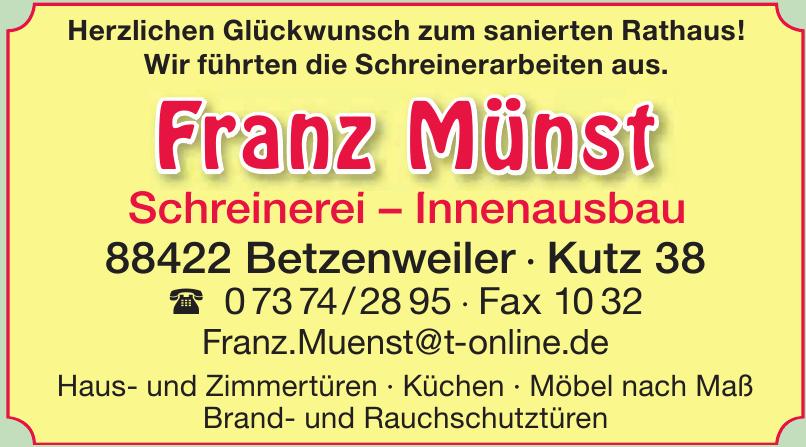 Franz Münst