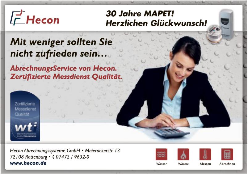 Hecon Abrechnungssysteme GmbH