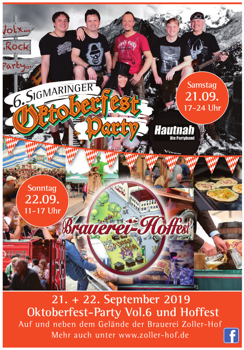 6. Sigmaringer Oktoberfest Party