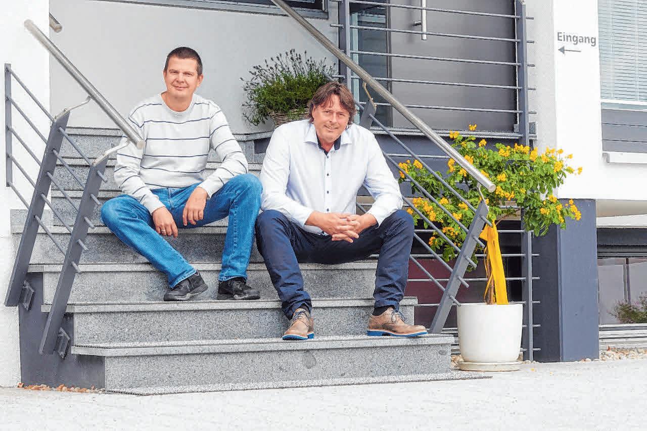 Christian Gnuschke (l.) und Rudolf Saier sind die Einrichtungsleiter.
