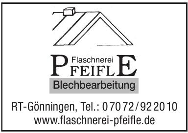 Flaschnerei Pfeifle Blechbearbeitung