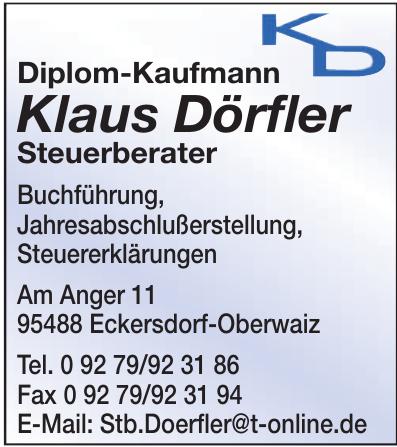 Klaus Dörfler Steuerberater