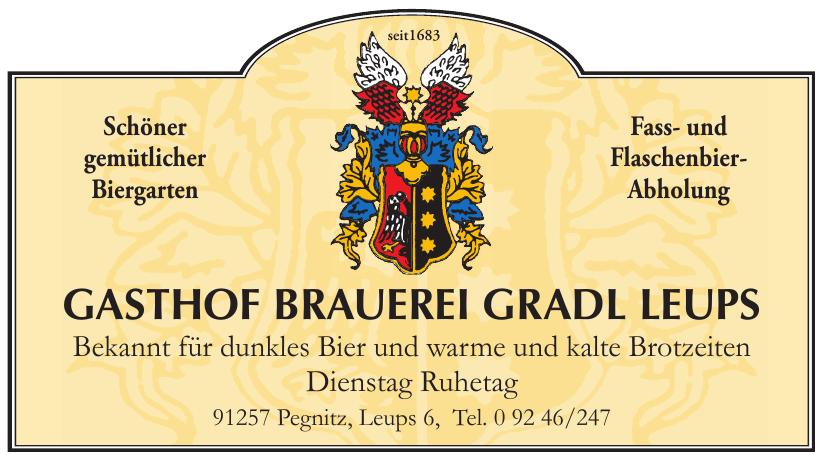 Gasthof Brauerei Gradl Leups