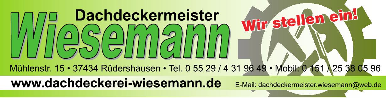 Dachdeckermeister Wiesemann