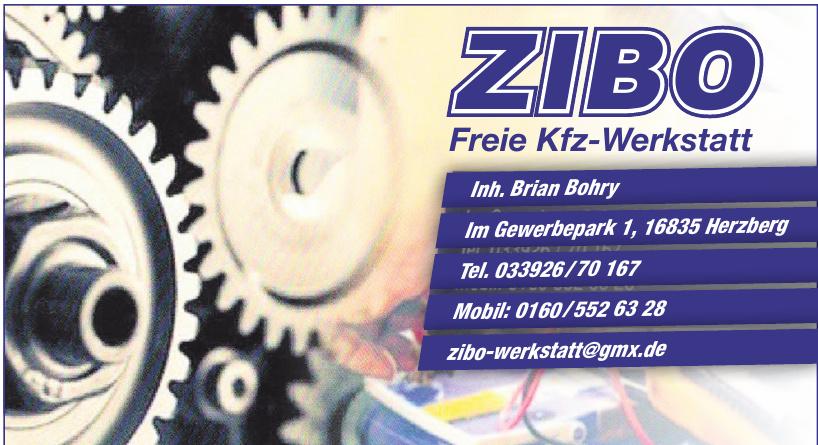 ZIBO Kfz-Werkstatt
