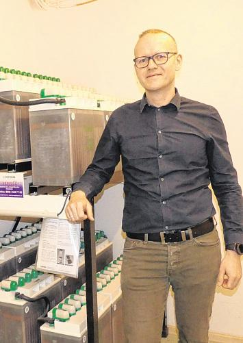 Asklepios Klinik Parchim: Technischer Leiter Andreas Kühnert