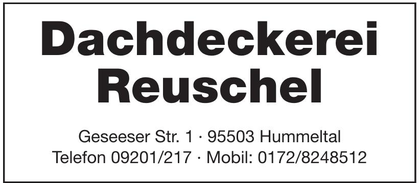 Dachdeckerei Reuschel