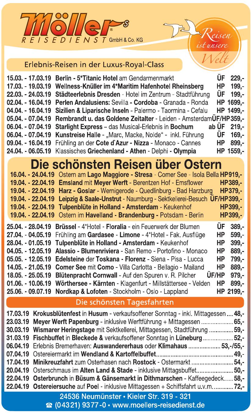 Möller's Reisedienst GmbH & Co. KG