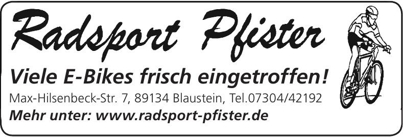 Radsport Pfister