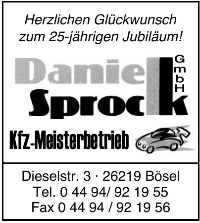 Kfz-Meisterbetrieb Daniel Sprock GmbH