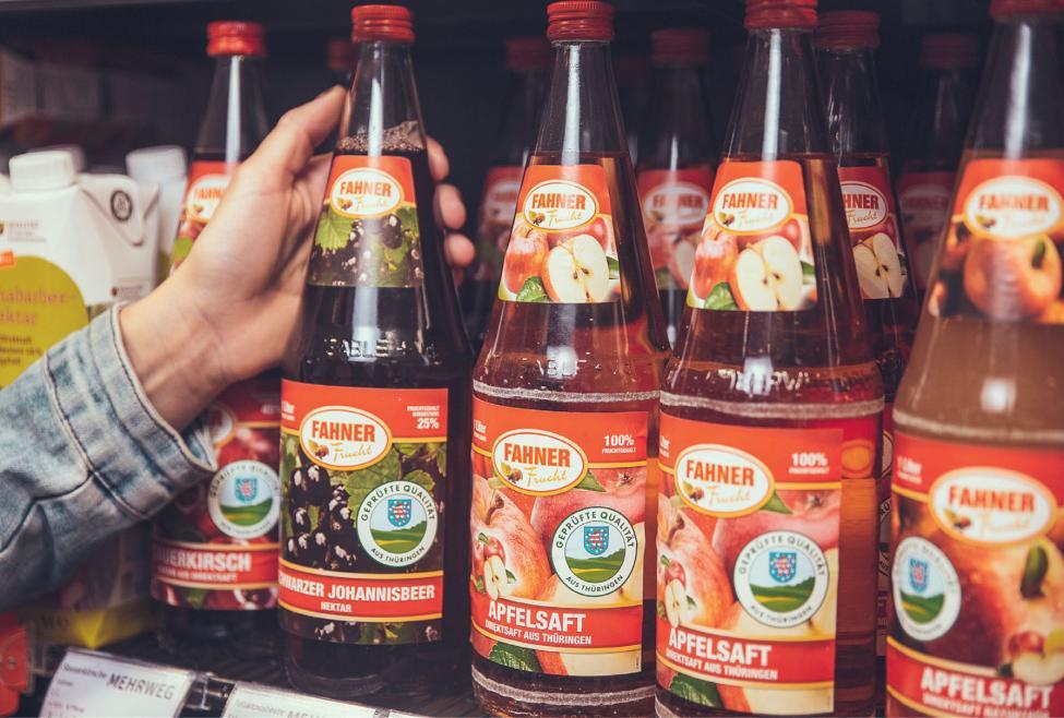 Achten Sie beim Einkauf im Supermarkt auf das Thüringer Qualitätszeichen.