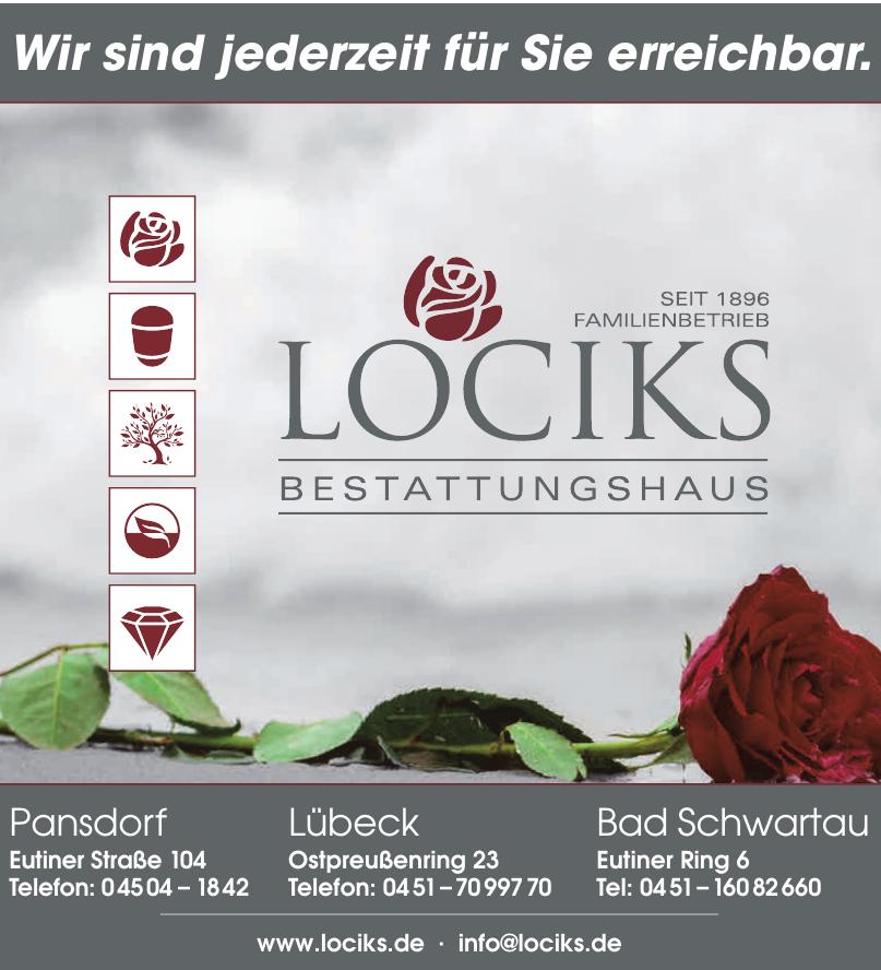 Lociks Bestattunghaus