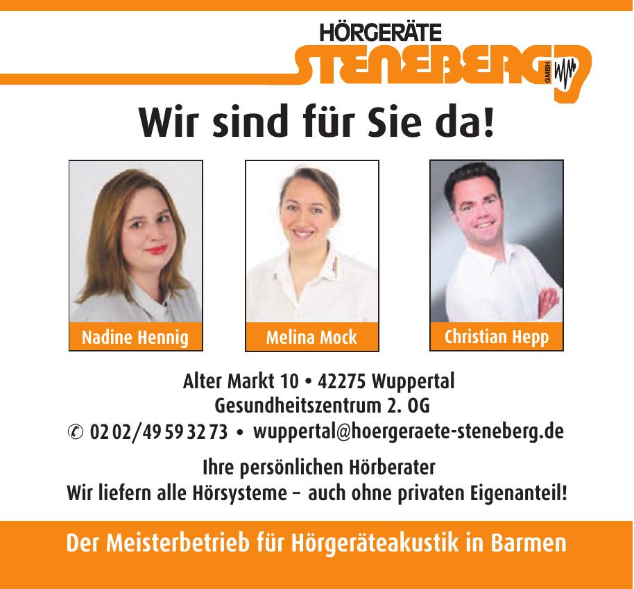 Hörgeräte Steneberg