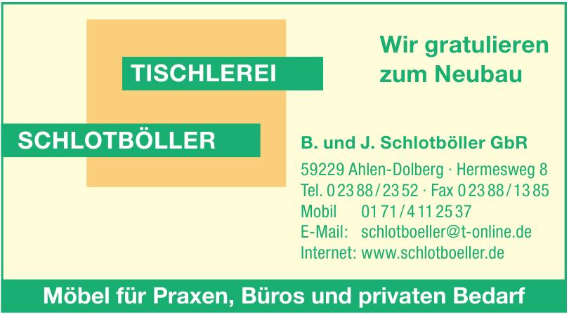 B. und J. Schlotböller GbR