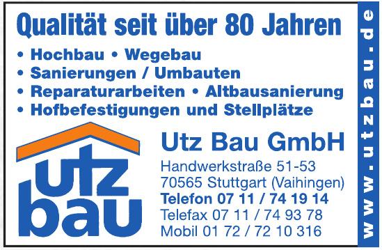 Utz Bau GmbH