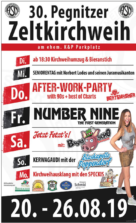 30. Pegnitzer Zeltkirchweih