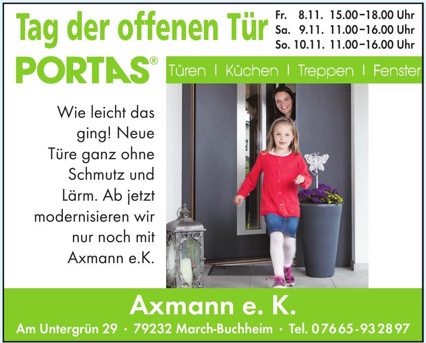 Axmann e. K.