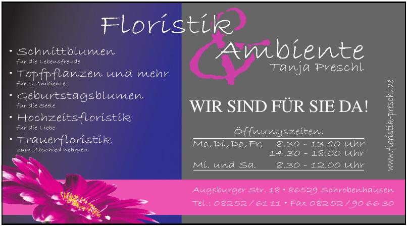 Floristik & Ambiente, Tanja Preschl