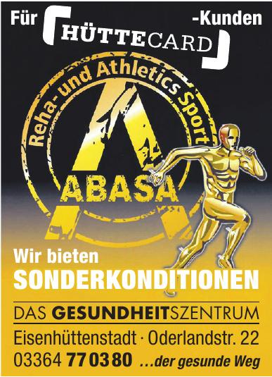 Abasa - Reha- und Athletics Sport